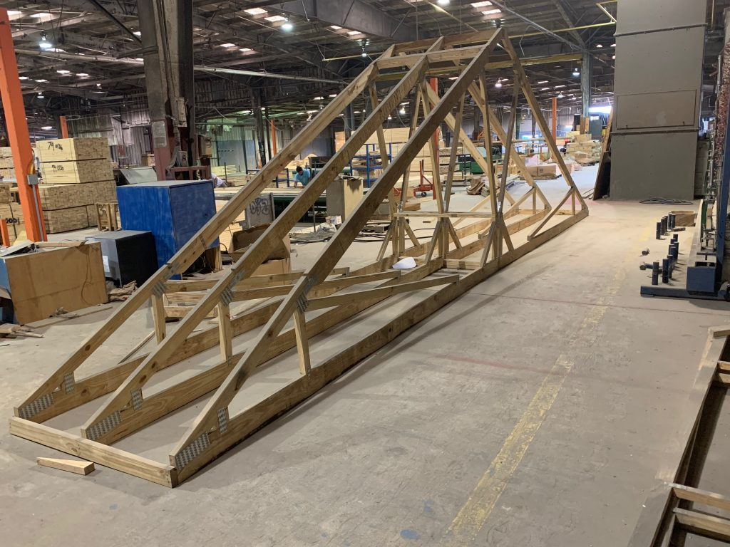 Hinge Truss | Southern Wood Components
