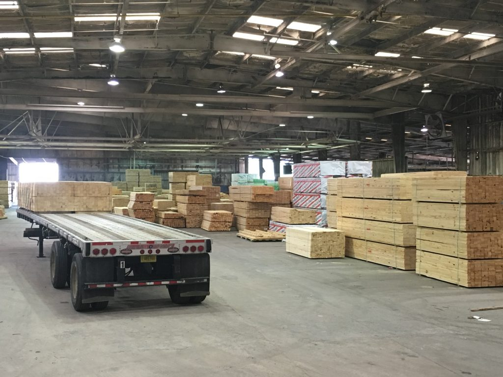Southern Wood Components warehouse Moultrie GA