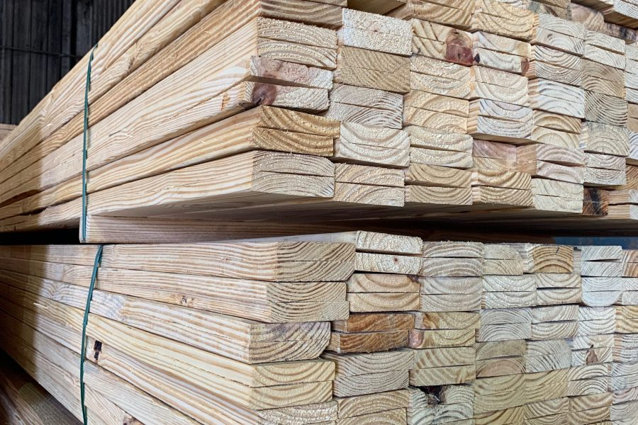 Boards for Roof Lathe